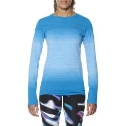 Asics Koszulka Asics fuzeX Seampless LS niebieska r. M (141215 8012). Niebieskie topy sportowe damskie Asics, m. Za 149,00 zł.