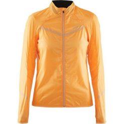 Kurtki damskie softshell: Craft Kurtka damska Featherlight Jacket pomarańczowa r. S (1903258-1563)