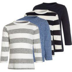 Next LONG SLEEVE 4 PACK  Bluzka z długim rękawem blue. Niebieskie t-shirty chłopięce Next, z bawełny, z długim rękawem. Za 129,00 zł.
