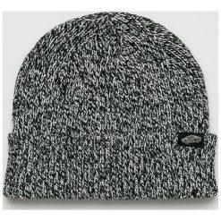 Vans - Czapka. Szare czapki zimowe damskie marki Vans, na zimę, z dzianiny. Za 99,90 zł.