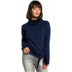Bewear Bluza Damska Xl Ciemny Niebieski. Niebieskie bluzy damskie BeWear, xl, z materiału. W wyprzedaży za 159,00 zł.