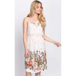 Sukienki: Biała Sukienka So Amazing