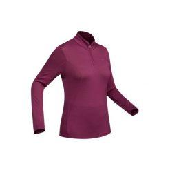 Koszulka trekkingowa długi rękaw TechWOOL 190 suwak damska. Czarne t-shirty damskie marki Auri, l, z bawełny. Za 149,99 zł.