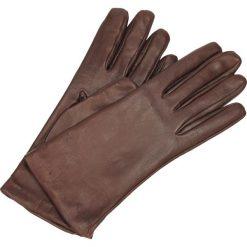 Rękawiczki - 20N BORDEAUX. Czerwone rękawiczki damskie Venezia, z nylonu. Za 129,00 zł.