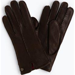 Pearlwood - Skórzane rękawiczki damskie – Lucy, brązowy. Brązowe rękawiczki damskie Pearlwood, ze skóry. Za 379,95 zł.