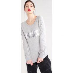 Bluzy damskie: Vila VISPARK  Bluza light grey melange