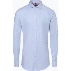 Finshley & Harding - Koszula męska z bardzo długim rękawem, niebieski. Czarne koszule męskie marki Finshley & Harding, w kratkę. Za 179,95 zł.