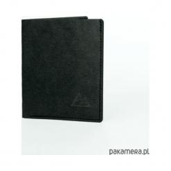 Super cienki portfel z papieru WASHPAPA - czarny. Czarne portfele damskie marki Pakamera. Za 89,00 zł.