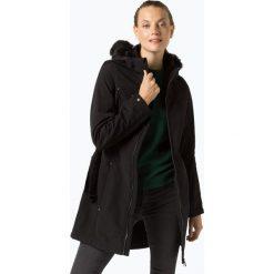 Franco Callegari - Damski płaszcz funkcyjny, czarny. Zielone płaszcze damskie marki Franco Callegari, z napisami. Za 749,95 zł.