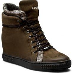 Sneakersy CARINII - B3733/N I43-000-PSK-B88. Zielone sneakersy damskie marki Carinii, z gumy. W wyprzedaży za 259,00 zł.