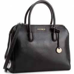 Torebka COCCINELLE - CF8 Clementine Soft E1 CF8 18 01 01 Noir 001. Czarne torebki klasyczne damskie Coccinelle, ze skóry, duże. Za 1299,90 zł.