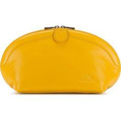 Kosmetyczka 21-3-381-Y. Żółte kosmetyczki damskie Wittchen. Za 559,00 zł.