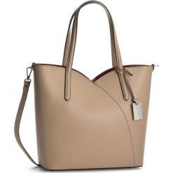Torebka CREOLE - K10359 Cappuccino. Brązowe torebki klasyczne damskie Creole, ze skóry. W wyprzedaży za 239,00 zł.
