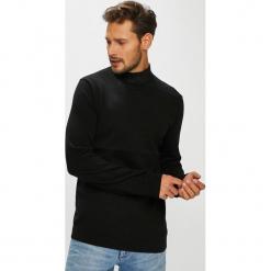Only & Sons - Sweter. Czarne swetry klasyczne męskie marki Only & Sons, l, z bawełny. W wyprzedaży za 79,90 zł.