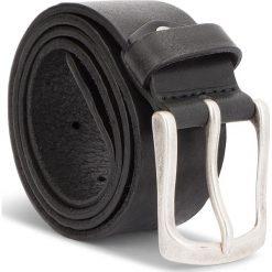 Pasek Męski WRANGLER - Metal Kabel Belt W0B59U101 85 Black. Czarne paski męskie Wrangler, w paski, ze skóry. W wyprzedaży za 159,00 zł.