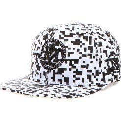 Czapka męska snapback biała (hx0207). Białe czapki z daszkiem męskie Dstreet, z haftami, eleganckie. Za 69,99 zł.