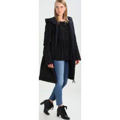 Banana Republic EMPIRE TOP Bluzka black. Czarne bluzki asymetryczne Banana Republic, s, z materiału. W wyprzedaży za 135,85 zł.