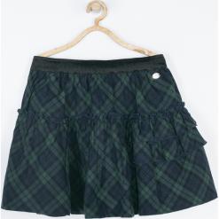 Spódnica. Szare spódniczki dziewczęce z falbankami GIRL POWER, z bawełny, maxi. Za 79,90 zł.