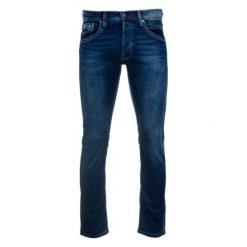Pepe Jeans Jeansy Męskie Track 31/32 Ciemny Niebieski. Niebieskie jeansy męskie z dziurami marki Pepe Jeans. Za 499,00 zł.