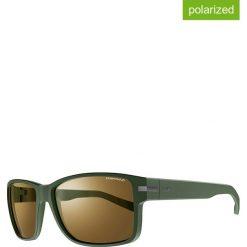 """Okulary przeciwsłoneczne """"Kobe"""" w kolorze oliwkowo-brązowym. Brązowe okulary przeciwsłoneczne damskie marki Triwa, z tworzywa sztucznego. W wyprzedaży za 215,95 zł."""