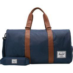 Herschel NOVEL Torba podróżna navy. Niebieskie torebki klasyczne damskie Herschel. Za 439,00 zł.