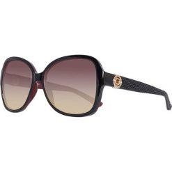 """Okulary przeciwsłoneczne damskie aviatory: Okulary przeciwsłoneczne """"GF0275 52F"""" w kolorze czarnym"""