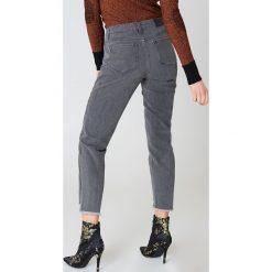 Spodnie z wysokim stanem: Just Female Dżinsy Jo - Grey