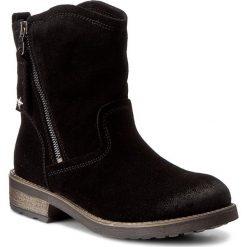Botki TAMARIS - 1-25454-29 Black 001. Czarne botki damskie skórzane marki Tamaris. W wyprzedaży za 199,00 zł.