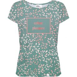 Colour Pleasure Koszulka damska CP-034 252 zielona r. M/L. T-shirty damskie Colour pleasure, l. Za 70,35 zł.