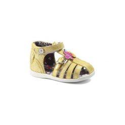 Sandały Dziecko  Catimini  SOURIS. Żółte sandały dziewczęce marki Catimini. Za 255,20 zł.