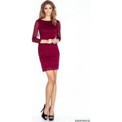 Sukienki: Koronkowa sukienka z podszewką