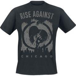 T-shirty męskie z nadrukiem: Rise Against Skyline T-Shirt czarny