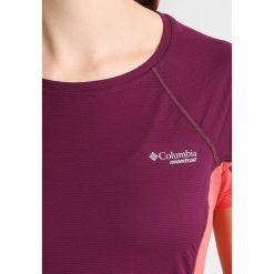 Columbia TITAN ULTRA  Tshirt z nadrukiem dark raspberry/red coral - 2