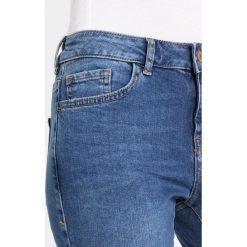 New Look FRAY HEM FRENCH FANCY Jeans Skinny Fit blue. Czarne jeansy damskie relaxed fit marki New Look, z materiału, na obcasie. Za 139,00 zł.