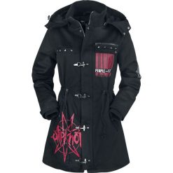 Slipknot EMP Signature Collection Kurtka damska czarny. Czarne kurtki damskie zimowe marki Slipknot, m, z nadrukiem, z kapturem. Za 599,90 zł.