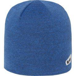 Czapka męska CAM002z - granatowy ciemny - 4F. Niebieskie czapki zimowe męskie 4f, na jesień, z materiału. Za 29,99 zł.