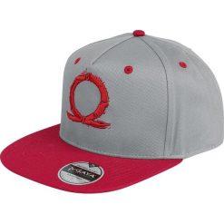 God Of War Serpent Logo Czapka Snapback szary/czerwony. Czerwone czapki z daszkiem damskie God Of War. Za 99,90 zł.