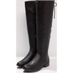ALDO CATERA Muszkieterki black. Czarne kozaki damskie skórzane ALDO. W wyprzedaży za 335,20 zł.