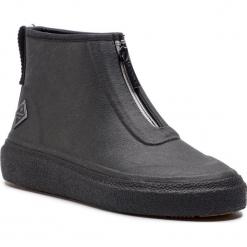 Kalosze GANT - Stormhaven 17599855 Black G00. Czarne buty zimowe damskie GANT, z materiału. Za 399,90 zł.