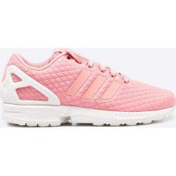 Adidas Originals - Buty ZX Flux. Brązowe buty sportowe damskie marki adidas Originals, z bawełny. W wyprzedaży za 199,90 zł.