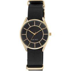 Zegarek Nine West Damski NW/1942BKBK Fashion Gold Black. Czarne zegarki damskie Nine West. Za 311,70 zł.
