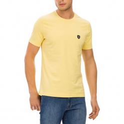 T-shirt w kolorze żółtym. Żółte t-shirty męskie marki GALVANNI, m, z okrągłym kołnierzem. W wyprzedaży za 84,95 zł.