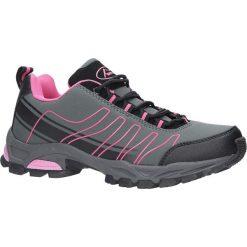 Szare buty sportowe sznurowane softshell Casu B1531-4. Szare buty sportowe damskie marki Casu, z softshellu. Za 89,99 zł.
