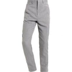 Chinosy męskie: Burton Menswear London Spodnie materiałowe grey