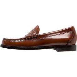 Buty wizytowe męskie: G. H. Bass & Co. WEEJUN LARSON MOC PENNY Eleganckie buty mid brown