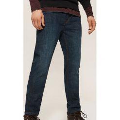 Jeansy slim fit - Granatowy. Niebieskie jeansy męskie relaxed fit House, z jeansu. Za 139,99 zł.