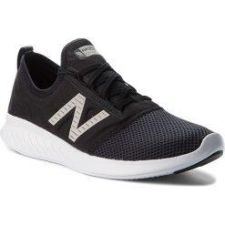 Buty NEW BALANCE - WCSTLLK4 Czarny. Czarne buty do biegania damskie New Balance, z materiału. W wyprzedaży za 229,00 zł.