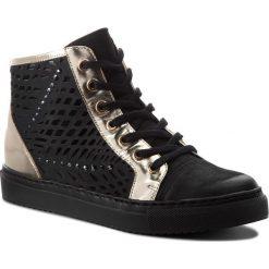 Sneakersy CARINII - B4321 360-J16-000-B67. Czarne sneakersy damskie Carinii, z nubiku. W wyprzedaży za 239,00 zł.