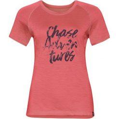 Odlo Koszulka tech. Odlo  TOP Crew neck s/s KOYA CERAMIWOOL  - 550191 - 550191/30367/S. Różowe bluzki damskie marki Odlo, s. Za 217,08 zł.