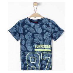 S.Oliver T-Shirt Chłopięcy 104 - 110 Niebieski. Niebieskie t-shirty chłopięce S.Oliver. Za 69,00 zł.